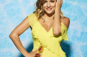 Caroline Flack sur l'île d'amour (ITV)