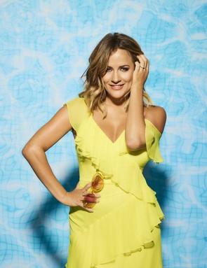 Caroline Flack on Love Island (ITV)