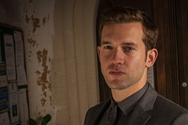 Nick Hendrix plays Detective Sergeant Jamie Winter in Midsomer Murders