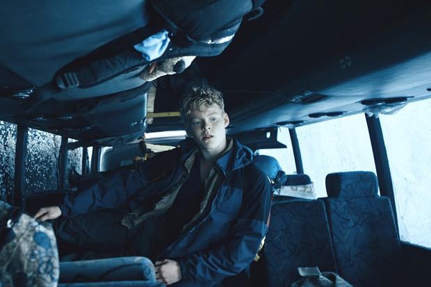 Lucas Lynggard Tønnesen stars in Netflix's Danish series The Rain (Netflix, JG)