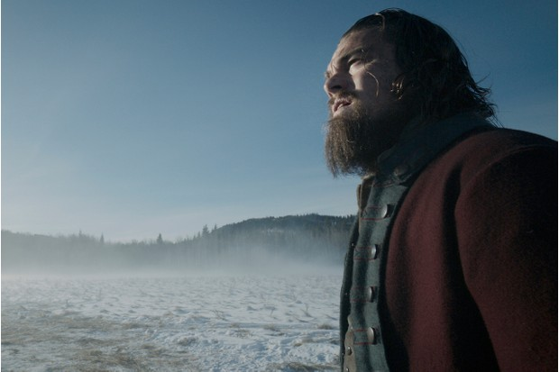 Leonardo DiCaprio as Hugh Glass in The Revenant (SEAC)