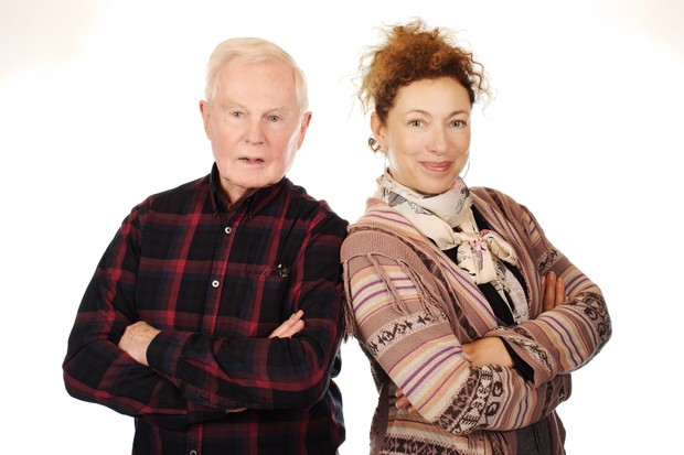 Derek Jacobi and Alex Kingston (Big Finish, HF)