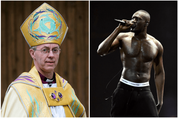 Justin Welby, Stormzy (Getty, EH)