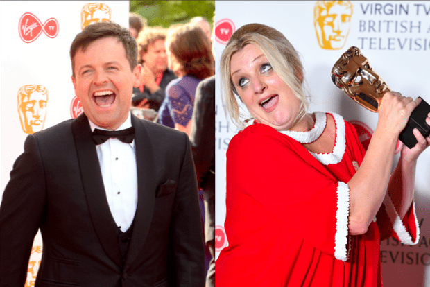 Declan Donnelly and Daisy May Cooper
