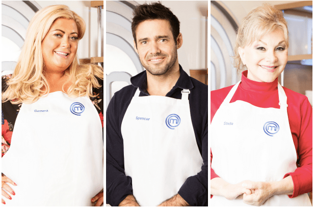 Gemma Collins, Spencer Matthews, Stella Parton, Celebrity Masterchef