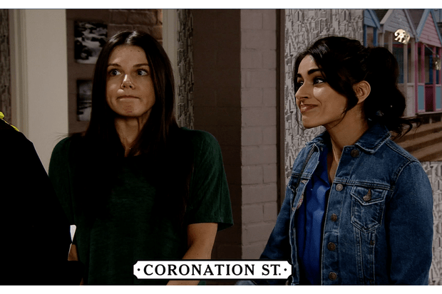 Coronation Street spoilers: Kate and Rana quizzed by the police
