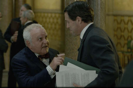 Anthony O'Donnell plays Leo Abse in A Very English Scandal