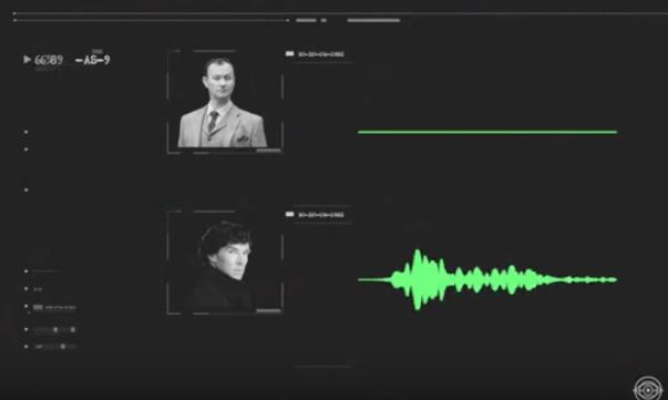 Intercepted transmission between Mycroft and Sherlock Holmes