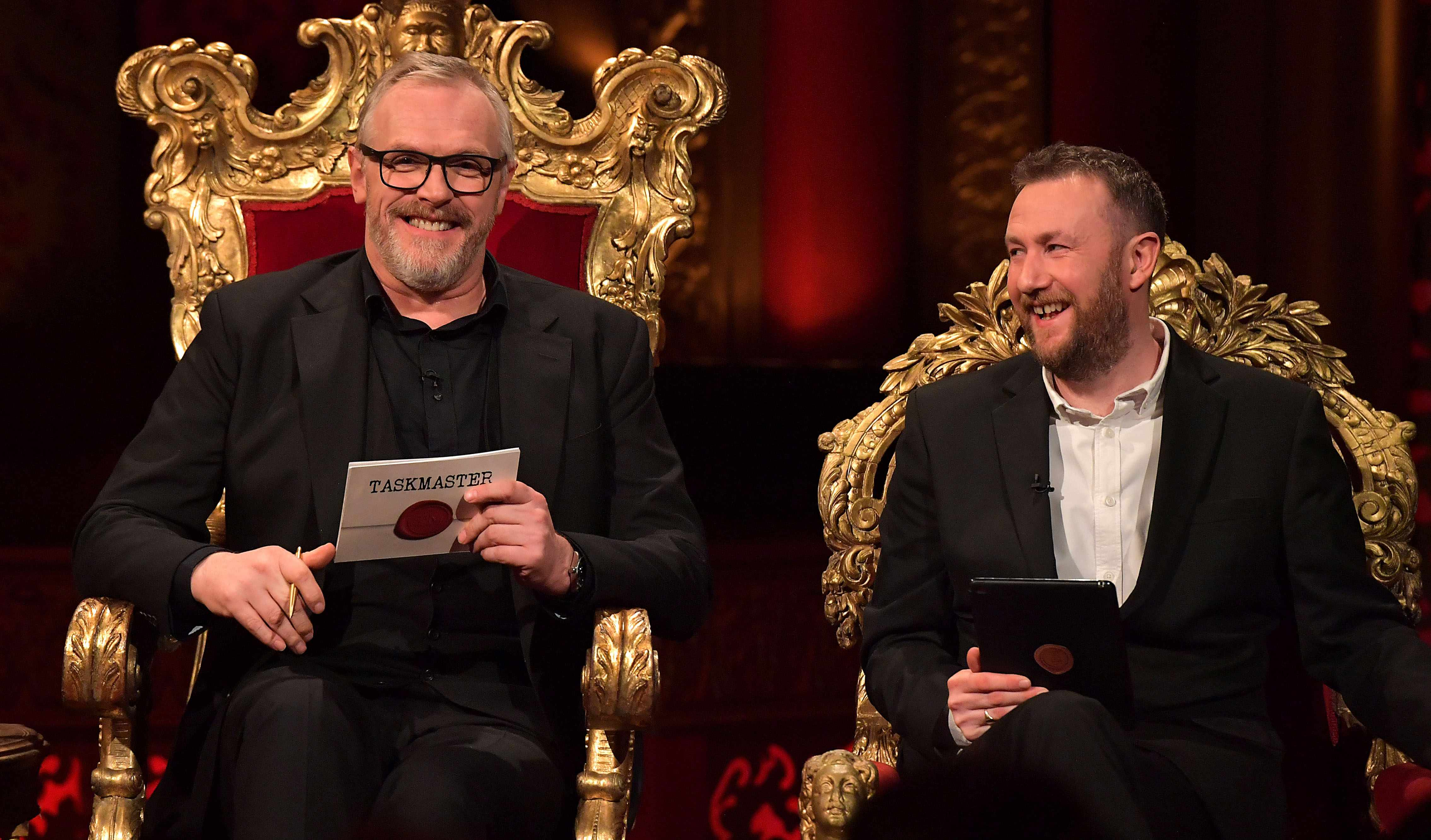 Greg Davies and Alex Horne on Taskmaster