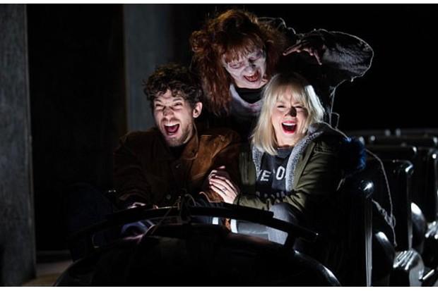 Thorpe Park Zombie reollercoaster ride