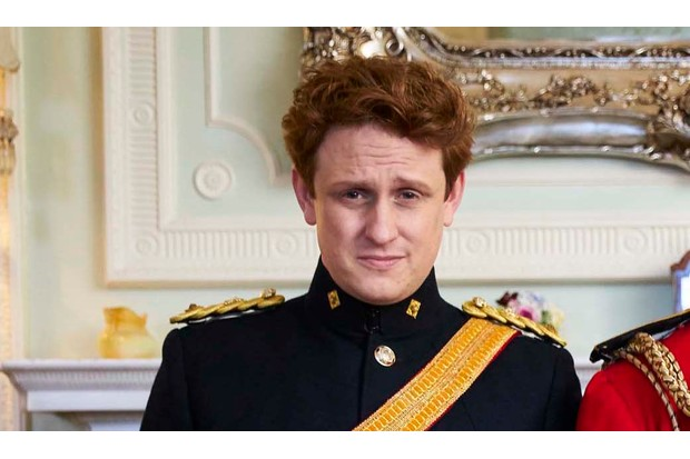 Richard Goulding as Prince Harry in The Windsors