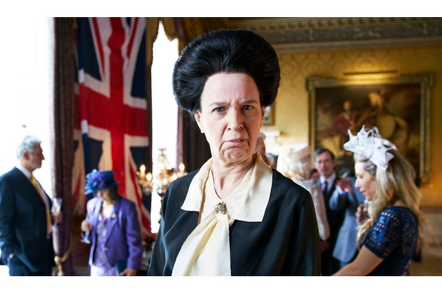 Vicki Pepperdine as Princess Anne in The Windsors