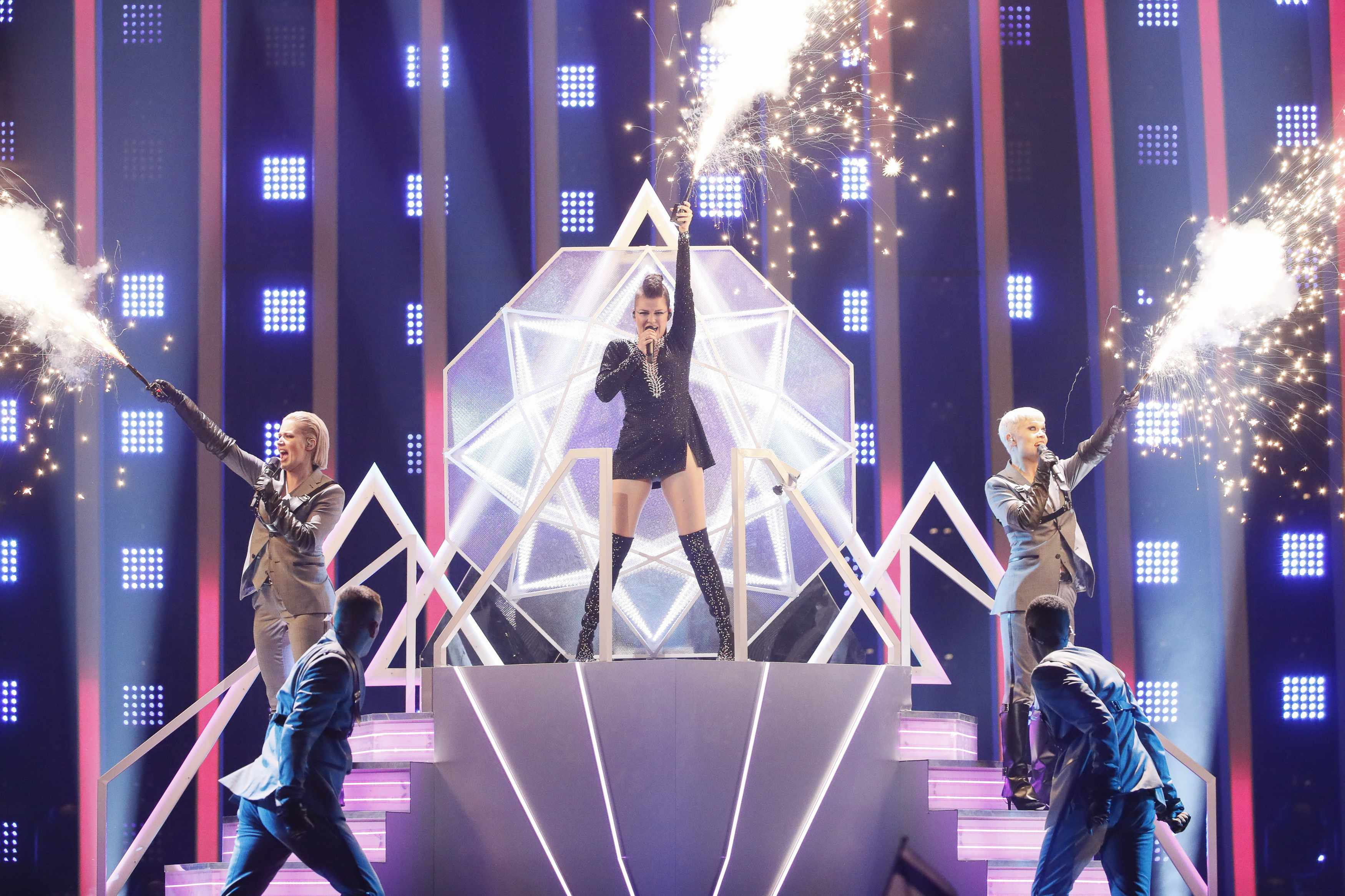 Saara Aalto, Eurovision 2018 (Photo by: Andres Putting, EH)