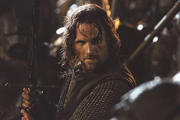 Viggo Mortensen as Aragorn in Lord of the Rings, SEAC, SL