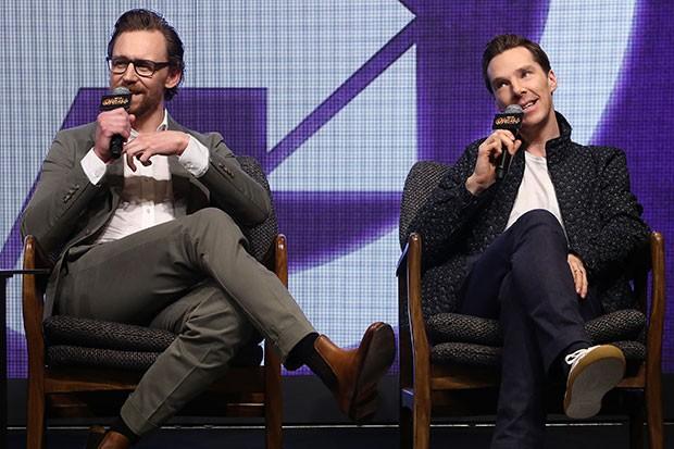 Tom Hiddleston and Benedict Cumberbatch, Getty, SL
