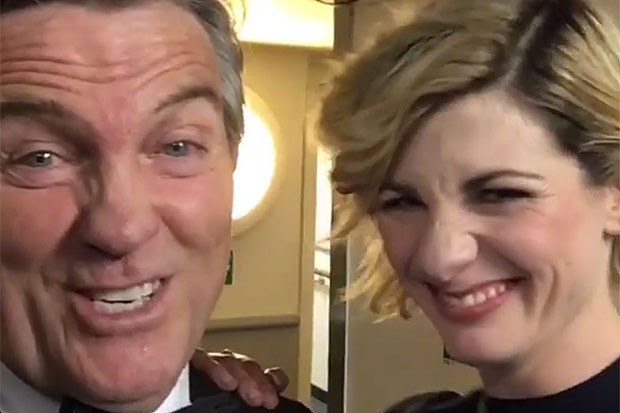 Bradley Walsh and Jodie Whittaker, Bradley Walsh Instagram, SL
