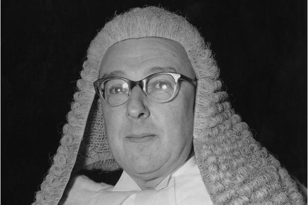Sir Joseph Cantley in 1955, Getty, TL