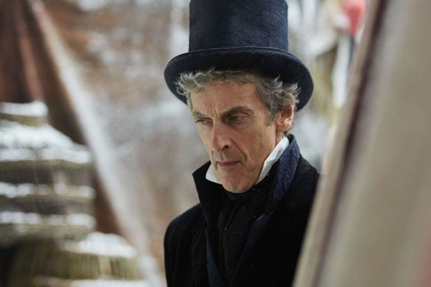 Peter Capaldi as the Twelfth Doctor in Doctor Who: Thin Ice (BBC, HF)