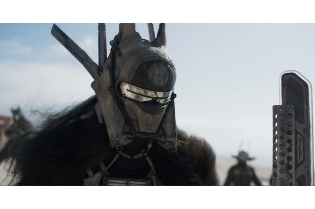 Mysterious (and possibly Welsh) Solo villain Enfys Nest (Disney, HF)