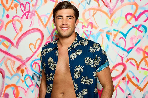 Jack Fincham on Love Island 2018, ITV Pictures, SL