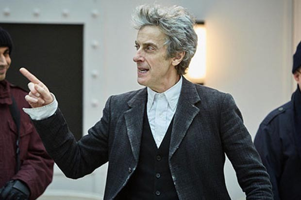 Peter Capaldi as the Doctor in The Lie of the Land