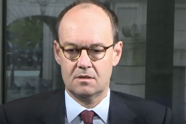 Sainsbury's CEO Mike Coupe, @itvnews Twitter, SL