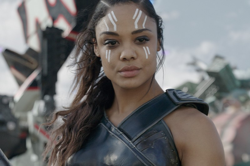 Tessa Thompson as Valkyrie in Thor: Ragnarok (Marvel, HF)