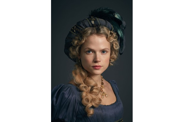 WARNING: Embargoed for publication until 00:00:01 on 05/06/2018 - Programme Name: Poldark - Series 4 - TX: n/a - Episode: Poldark S4 - Portraits (No. n/a) - Picture Shows: ***EMBARGOED TILL 5TH JUNE*** Caroline Penvenen (GABRIELLA WILDE) - (C) Mammoth Screen - Photographer: Mammoth Screen