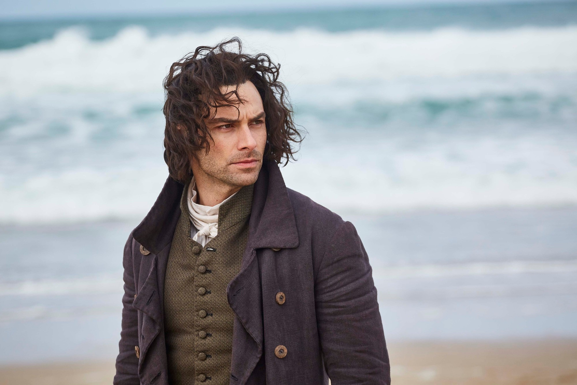 Aidan Turner as Ross Poldark in Series 4