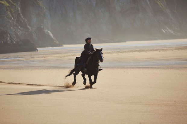 WARNING: Embargoed for publication until 00:00:01 on 05/06/2018 - Programme Name: Poldark - Series 4 - TX: n/a - Episode: Poldark S4 - EP1 (No. 1) - Picture Shows: ***EMBARGOED TILL 5TH JUNE*** Ross Poldark (AIDAN TURNER) - (C) Mammoth Screen - Photographer: Mike Hogan