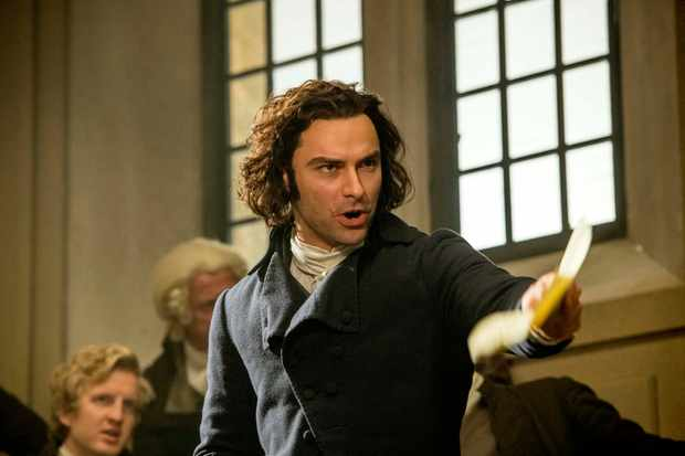 WARNING: Embargoed for publication until 00:00:01 on 19/06/2018 - Programme Name: Poldark - Series 4 - TX: n/a - Episode: Poldark S4 - EP3 (No. 3) - Picture Shows: ***EMBARGOED TILL 19TH JUNE 2018*** Ross Poldark (AIDAN TURNER) - (C) Mammoth Screen  - Photographer: Robert Viglasky