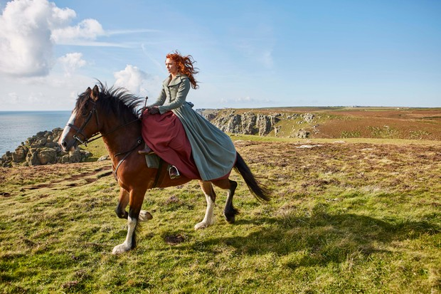 WARNING: Embargoed for publication until 00:00:01 on 31/05/2018 - Programme Name: Poldark - Series 4 - TX: n/a - Episode: Poldark S4 - EP1 EARLY RELEASE (No. 1) - Picture Shows: ***EMBARGOED TILL 00:00:01 FRIDAY 1ST JUNE*** Demelza (ELEANOR TOMLINSON) - (C) Mammoth Screen - Photographer: Mammoth Screen