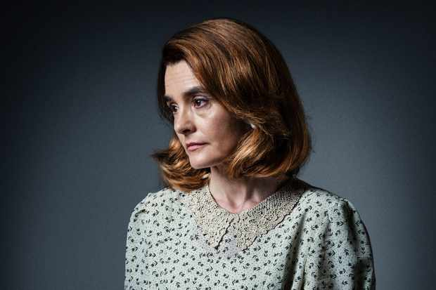 WARNING: Embargoed for publication until 00:00:01 on 12/06/2018 - Programme Name: Snatches - TX: n/a - Episode: various episodes (No. n/a) - Picture Shows: PIG LIFE Shirley Henderson - (C) BBC - Photographer: Amanda Searle
