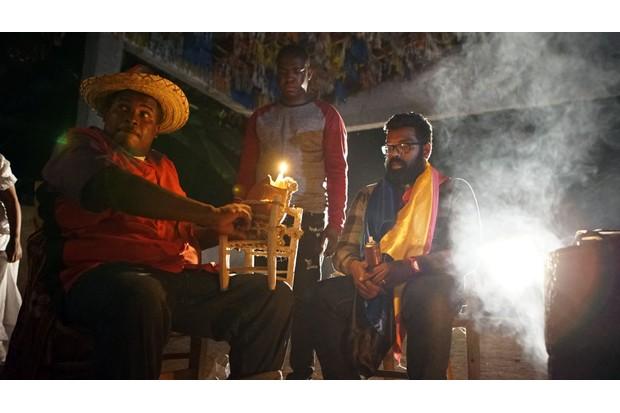 Meeting a voodoo priest