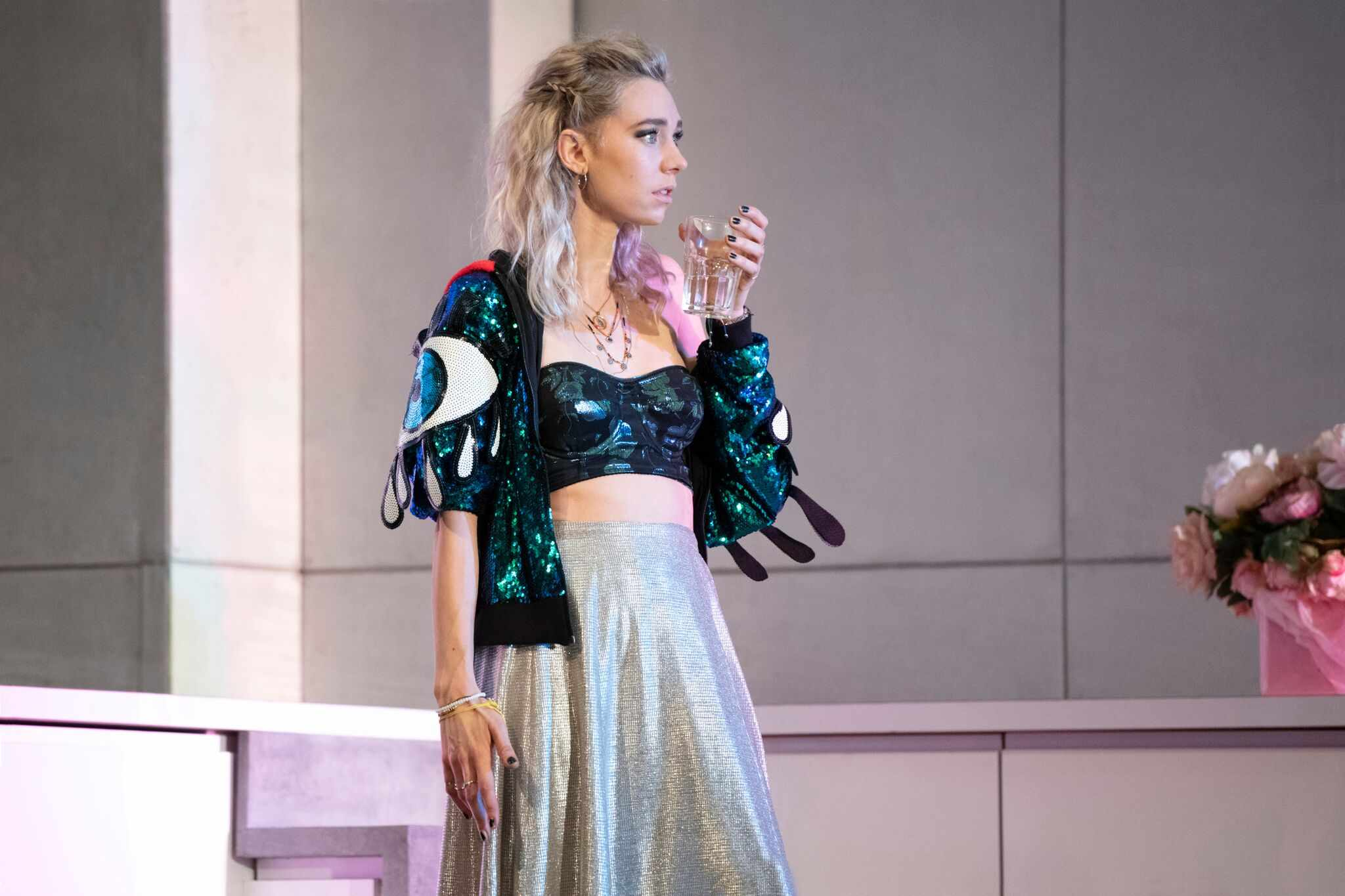 Vanessa Kirby as Julie (photos: Richard H Smith)