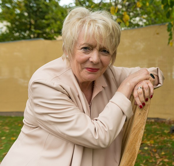 GLOUCESTERSHIRE, UNITED KINGDOM - OCTOBER 07: Alison Steadman photographed following her successful performance Blood & Words during poetry event at Cheltenham Literature Festival on October 07, 2017 in Gloucestershire, England.PHOTOGRAPH BY Charlie Bryan / Barcroft Images (Photo credit should read Charlie Bryan / Barcroft Media / Barcroft Media via Getty Images)