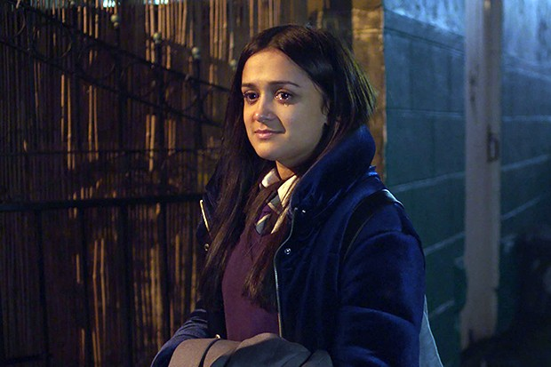 Amy Leigh Hickman plays Nas in Ackley Bridge