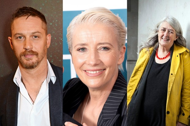 Emma Thompson, Tom Hardy, Mary Beard Birthday Honours