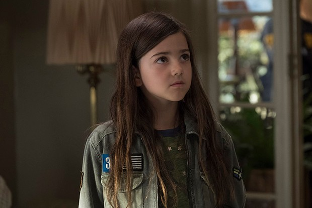 Abby Ryder Fortson as Cassie Lang in Ant-Man and the Wasp (Marvel, HF)