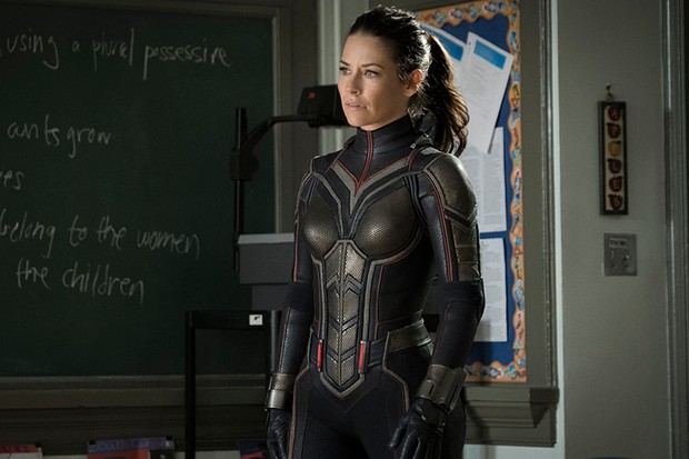 Evangeline Lilly as Hope van Dyne/The Wasp in Ant-Man and the Wasp (Marvel, HF)