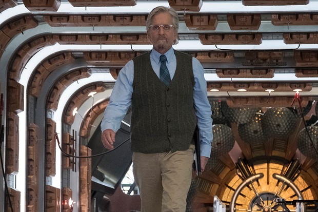 Michael Douglas as Hank Pym in Ant-Man and the Wasp (Marvel, HF)