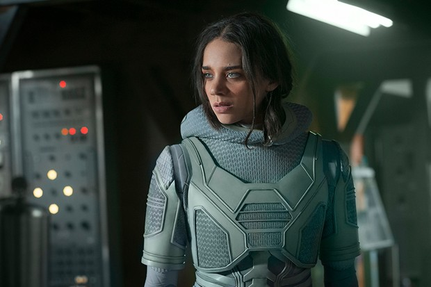 Hannah John-Kamen as Ghost in Ant-Man and the Wasp (Marvel, HF)