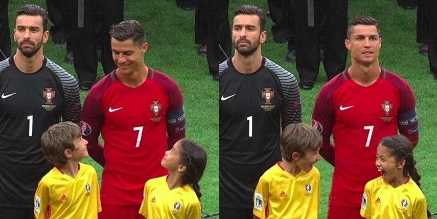 Cristiano Ronaldo smile Portugal