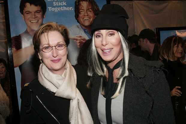 Meryl Streep and Cher (Getty, EH)