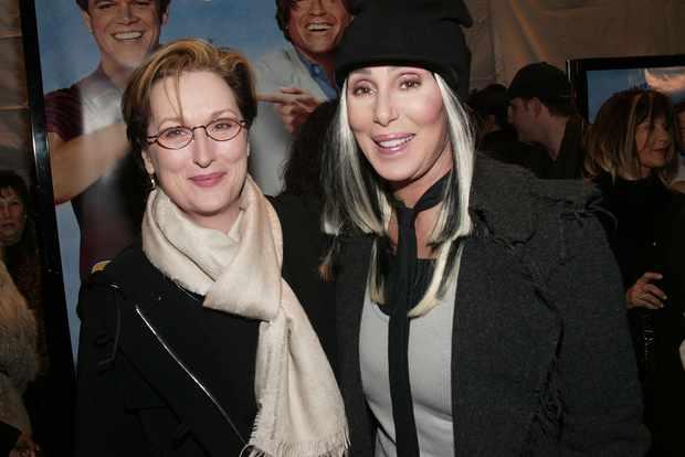 Meryl Streep and Cher
