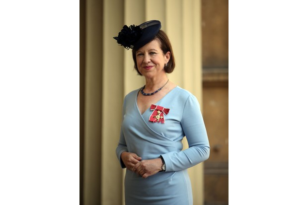 BBC's Chief International Correspondent Lyse Doucet after being awarded an OBE by the Princess Royal at an investiture ceremony at Buckingham Palace (Getty)