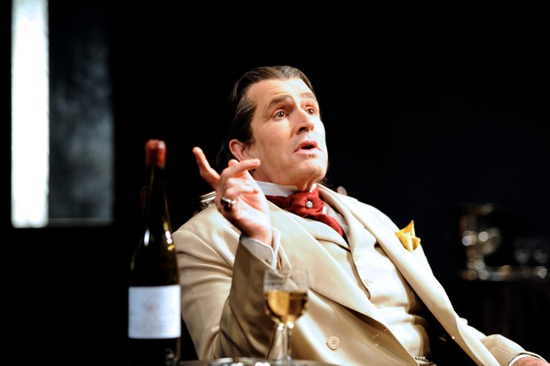 Rupert Everett as Oscar Wilde in David Hare's The Judas Kiss directed by Neil Armfield at the Hampstead Theatre in London. (Getty)