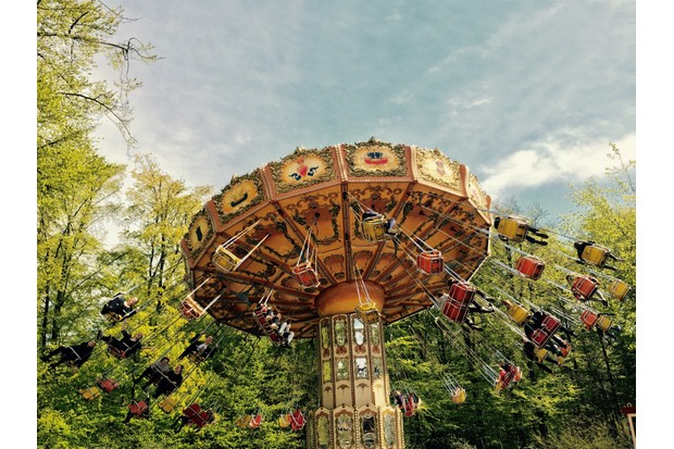 Tivoli Gardens is the world's second oldest amusement park