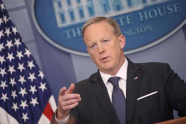 Press Secretary Sean Spicer Holds Daily Press Briefing At White House