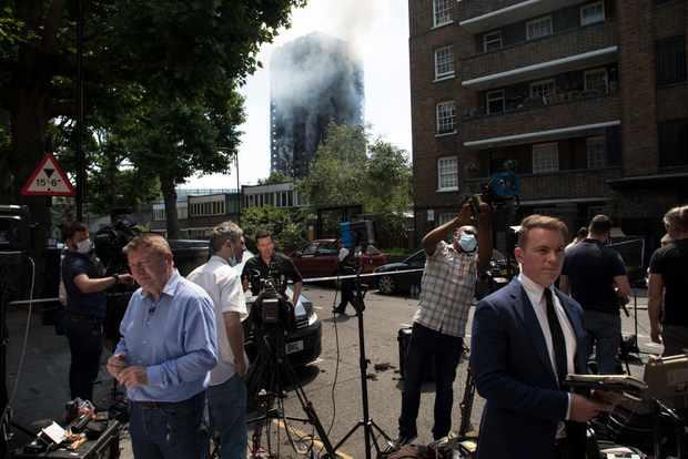 Grenfell Tower Fire In London